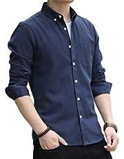Lucky Chart 襯衫 男士 長袖 牛津布 紐扣領 透濕材料 男士襯衫