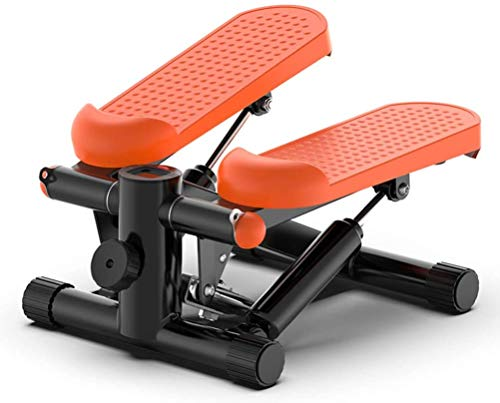 New Run Orange Home Trainer Fitness Stepper, Small Compact Mini Stepper with LED Display, Adjustable...
