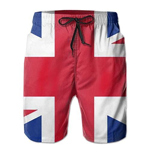 Bensontop herenshorts Engeland Groot-Brittannië zwembroek met Britse vlag sneldrogende boardshorts zomer badbroek voor sport