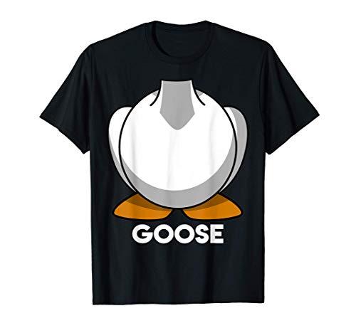Disfraz de grupo de amigos de pareja de Halloween de ganso Camiseta