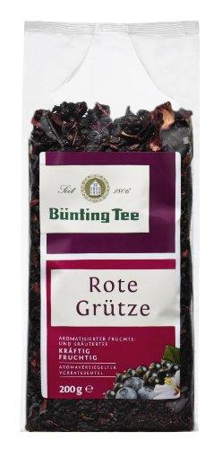 Bünting Tee Rote Grütze 200 g lose, 6er Pack (6 x 200 g)