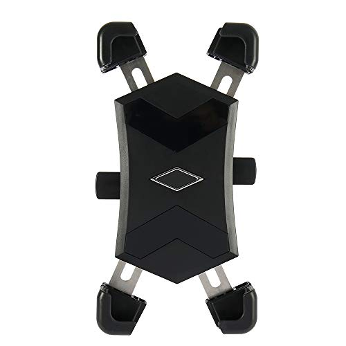 Soporte para Teléfono para Bicicleta Soporte Universal Ajustable para Bicicleta, Motocicleta Soporte para Teléfono para la Mayoría de Teléfonos Inteligentes de 4.5 '-7.2' Girar 360 °