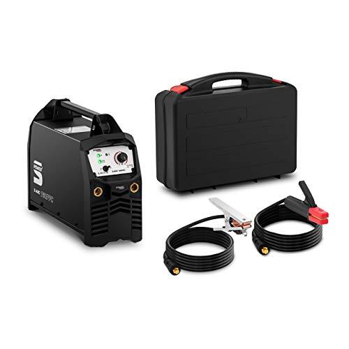 Stamos Power2 Soldador MMA Equipo Para Soldar S-ARC 160PFC (MMA/TIG Liftarc, 160 A, Apto para generador eléctrico, IGBT)
