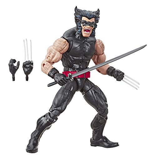 """Marvel Retro 6""""-Scale Fan Figure Collection Wolverine (X-Men) Action Figure Toy – Super Hero Collectible Series"""