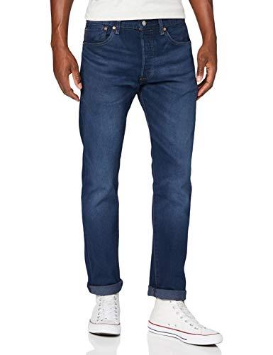 Levi\'s Herren 501 Original Jeans, Miami Sky Od, 33W / 32L