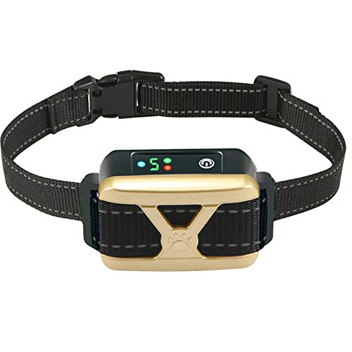 ZNFSZ Bark Collar For Dogs with Rechargeable Dog Training Shock Collar for Small Medium Large Dogs