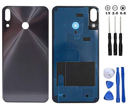 Snailcanfly Coperchio Batteria Vetro Posteriore Sostituzione Alloggiamento Sportello per ASUS Zenfone 5 ZE620KL ZF620KL X00QD /5z ZS620KL Z01RD 2018 6.2inch Midnight Blu