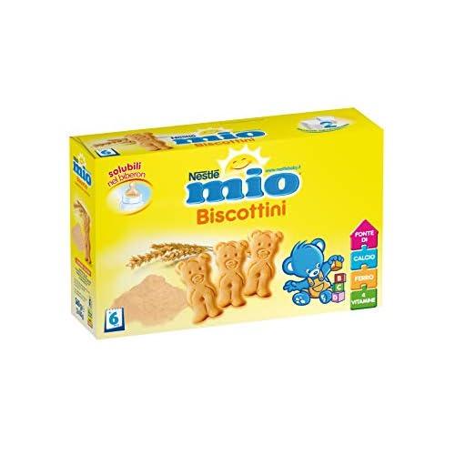 NESTLÉ MIO Biscottini biscotti per l'infanzia da 6 mesi confezione da 2x180g
