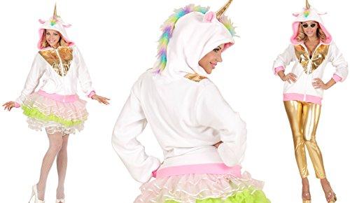 Einhorn Strickjacke Fabelwesen Pegasus Märchen Kostüm Unicorn (S/M)