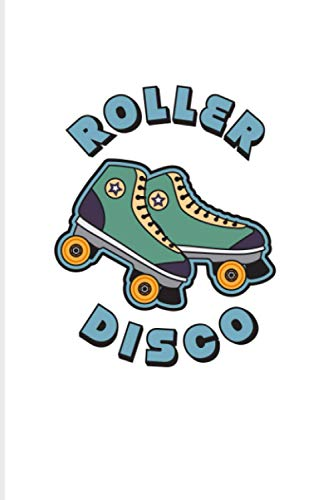 Roller Disco: 2021 Planner | Weekly & Monthly Pocket Calendar | 6x9 Softcover Organizer | Hipster Retro Vintage & Disco Outfit Gift