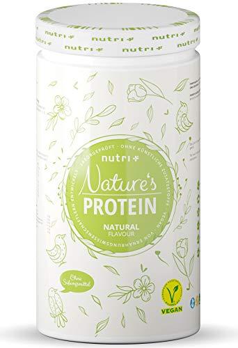 EIWEIßPULVER Neutral ohne Süßstoff 500g - 84,8{ebd0f54a5489b45c1c244ec6e760030c74c4ba8acfb8266bc1012144ff05e990} Eiweiß - Nutri-Plus Proteinpulver laktosefrei - als Shake oder zum Backen - Natures Protein Pulver