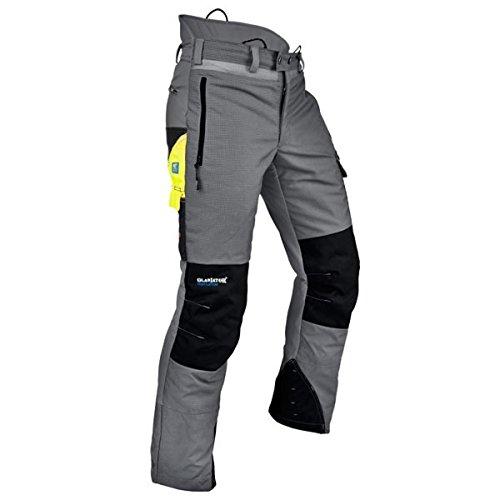 Pfanner Ventilation Rundum Schnittschutzhose Klasse 1, Farbe:grau, Größe:XL