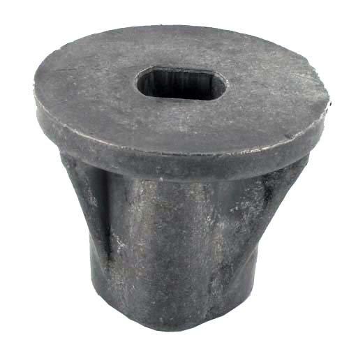 Naaf voor lemmet voor knutselgarden – Mac Gardena modellen GB504, GB504TR en TRE GB504, GB504TR en TRE, NG504TR en TREN – H: 47 mm, centrale boring: 25 mm, diepte van de doos: 27 mm. Vervangt origineel onderdeel: 22463021/0