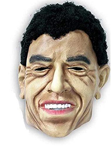 KarnevalsTeufel Latex-Maske Politiker für Erwachsene, Verschiedene Modelle (Obama)
