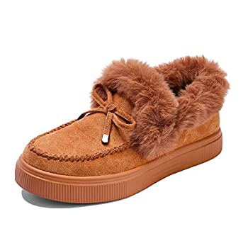 Best flat shoes with fur inside Reviews