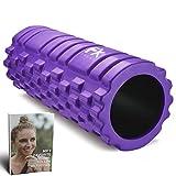 Rodillo de Espuma Foam Roller Pilates para Terapia de Masaje – Para Muscular Fitness Pilates Yoga - La Mejor...