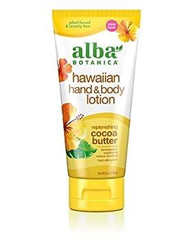 Alba Botanica Hawaiian Hand & Body Lotion Replenishing Cocoa Butter 6 oz  Packaging May Vary