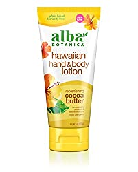 Alba Botanica Hawaiian Hand & Body Lotion, Replenishing Cocoa Butter, 7 Oz