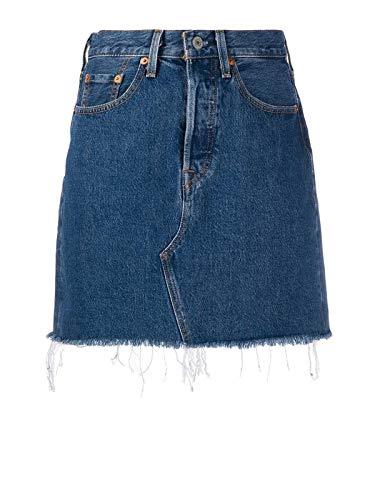Luxury Fashion | Levi's Dames 778820009 Donkerblauw Katoen Rokken | Lente-zomer 20
