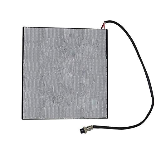 Zinniaya Hot Plate Zelfklevende folie Pad Bed Verwarming Lijm Heat Katoen Isolatie 3D Printer Onderdelen