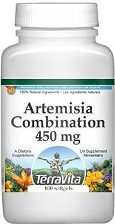 Artemisia Combination (Mugwort and Wormwood) - 450 mg (100 Capsules, ZIN: 513045)
