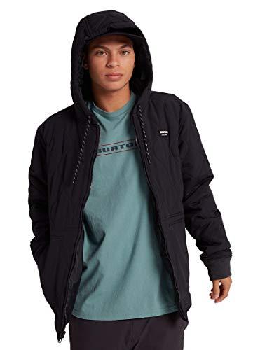 Burton Mens Mallet Hooded Jacket, True Black New, Large