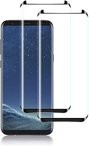 Yootech Screen Protector for Galaxy, Glass Screen Protector Bubble-Free Screen Protector