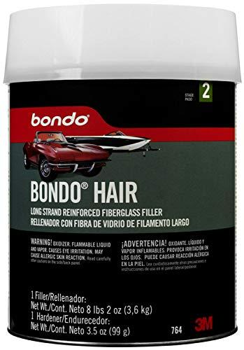 Bondo Hair Long Strand Fiberglass Reinforced Filler 00764 Gallon (8lbs, 2oz)