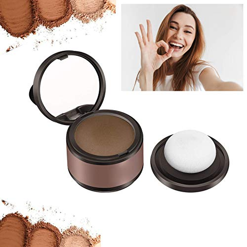 Hair Powder,Hair Volumizing Powder,Root Cover Up and Hair Volumizing Powder Hairline Shadow Cover Up Hair Filler For Thinning Hair For Women and Menthinning Hair Use (Light Coffee)