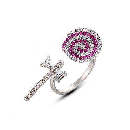 Helen de Lété (Sweet Candy Girl Lollipop 925Sterling Silber Ring