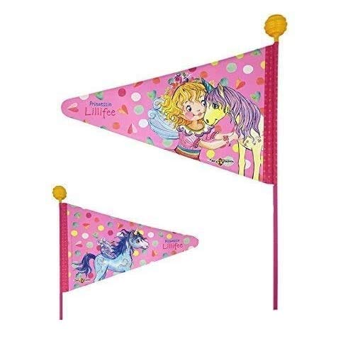 Prinzessin Lillifee 01300502 Kinderfahrrad Sicherheits Wimpel Sicherheitsfahne