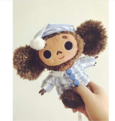 FDFSDAMAI Russische Yebypawka Neuheit Geschenk Nette AFFE Kuscheltier Cheburashka Spielzeug Weiche Plüschpuppe Anime Baby Spielzeug Ungefähr 20Cm