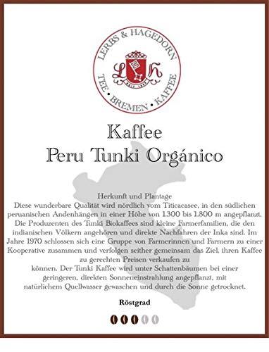 Peru Tunki Orgánico Kaffee 1kg
