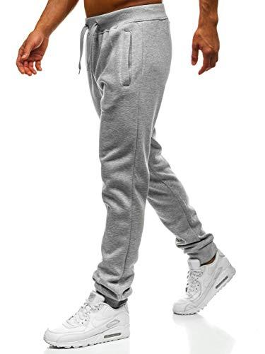 BOLF Herren Sporthose Trainingshose Jogginghose Sport Jogger Street Style J.Style XW01 Grau XL [6F6]