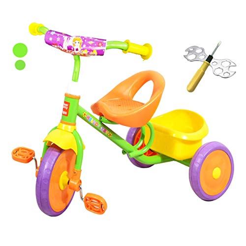Fantastic Deal! C-Xka Folding Portable Toy Scooter, 2-5 Years Old Child 3 Wheel Bicycle Baby Toddler...