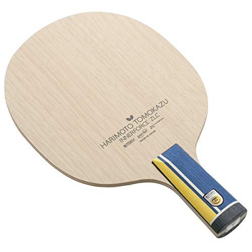 Butterfly Harimoto Innerforce ZLC CS Blade Table Tennis Blade | ZLC Carbon Fiber Blade | Professional Table Tennis Blade | Chinese Penhold Handle | Made in Japan