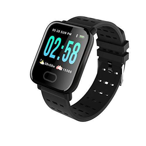 YDK A6 Smart Watch con Monitor De Ritmo Cardíaco Fitness Tracker Mujeres Hombres Presión Arterial Reloj Inteligente IP67 Deportes Impermeables, Adecuados para Android iOS,D