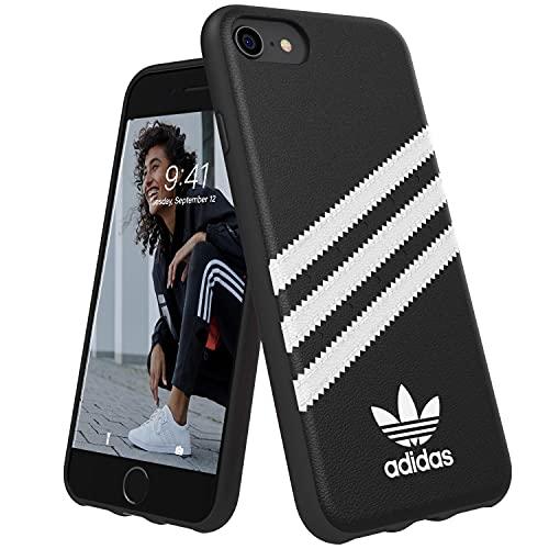 Cover Adidas MOULDED CASE PU FW 18 NERO/BIANCO COMPATIBILE CON IPHONE 6/6S/7/8