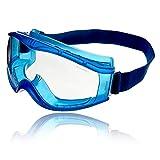 Dräger X-pect 8520 Antiparras | Gafas de Seguridad panorámicas antivaho | Lentes de policarbonato con ventilación indirecta