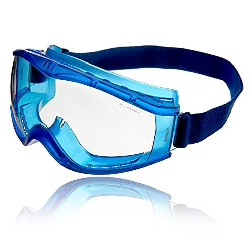 Dräger X-pect 8520 Antiparras | Gafas de Seguridad panorámicas antivaho | Lentes de policarbonato con ventilación indirecta 🔥