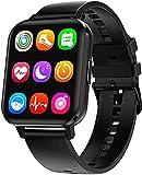 2021 DALIL DTX 1.78' Smartwatch Orologio Sportivo Uomo Donna IP68 Impermeabile, Con saturimetro misura pressione sanguigna Monitoraggi Saluti Funzioni Sport per Android e iOS (Nero)