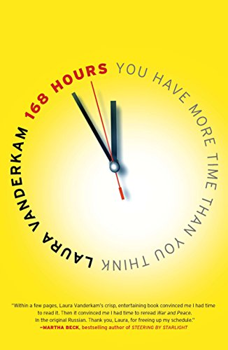 168 Hours: You Have More Time Than You Think by [Laura Vanderkam]