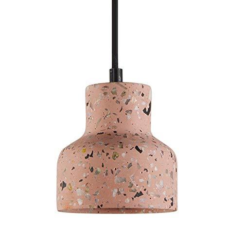 Siet Cemento Colgante iluminación instalación nórdica Techo luz Minimalista lámpara de suspensión Metal Luces Colgantes, e27 Accesorios de araña Simple para Cocina Comedor Dormitorio Dormitorio