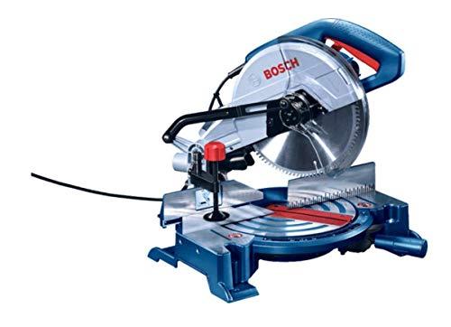 Bosch 0601B29021 - Sierra radial con corte de ingletas, 255 mm, 1700W-GCM 10 MX