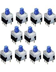 MicroInterruptor para Soldar y Protoboard on-off interruptor (10 Unidades)