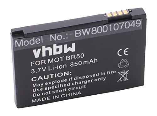 vhbw Li-Ion Akku 850mAh (3.7V) für Handy Handy Smartphone Motorola Razr V3m, V3T, V3xx, V3Z wie 22320, BA700, SNN5696.