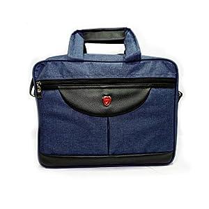GOLDLINE Waterproof Polyester Sling Bag for Men & Women/Cross Body 19L Messenger Office Bag/Multipurpose Shoulder Bag/Office Bag/Vintage Styling Satchel Office/Hand Bag (40 x 16 x 30 cm, Blue)