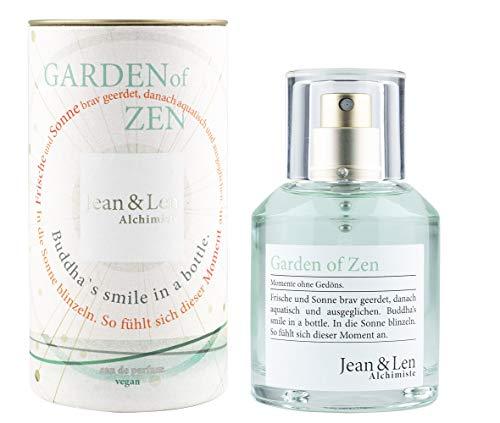 Jean & Len Damenduft Garden of Zen, Parfüm für Damen, Eau de Parfum, Duftnoten: frisch, natürlich, harmonisch, lebensfroh, 50 ml, 1 Stück