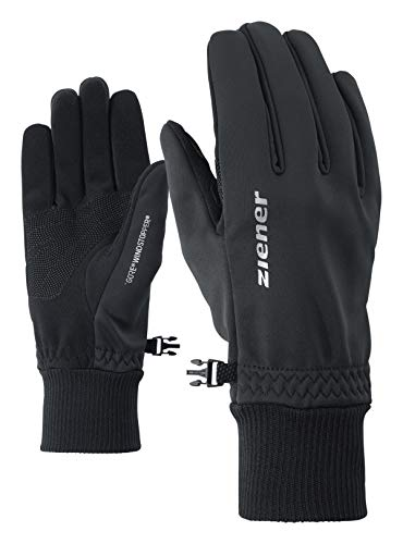 Ziener Herren IDEALIST GWS Handschuhe, schwarz, 8,5