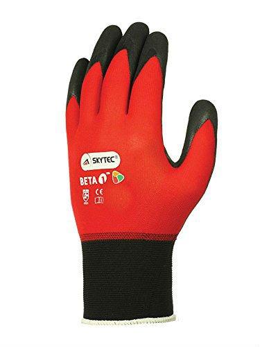 Skytec guantes sky50-xs Beta 1guantes, talla XS), color rojo/negro (Pack de 2)